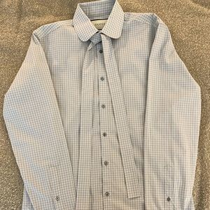 Men's Gucci Dress Shirt - Light Blue - Size 16